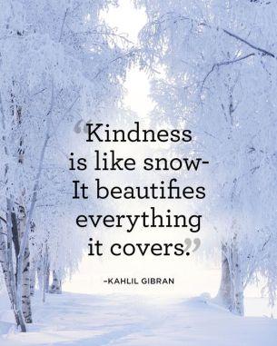 kindness-snow